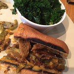 Philly Cheeseless Steakless Sandwich--my favorite!