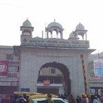 main entrance of Sis Ganj Sahib