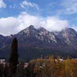View of the Bucegi Mountains.