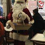 Le père Noël est passé aux colonnes