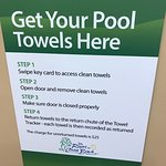 Towel,return, not sure how they account for there towels