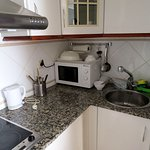 Kitchenette in our apt. (5th floor)