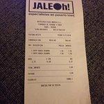 ticket JALEOh!