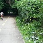 cycle into park for free