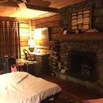 Christmas weekend! The Hawk cabin. Nice stay with very helpful and friendly staff!