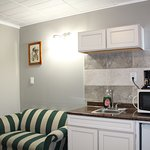 Deluxe Kitchenette with Sofa Bed