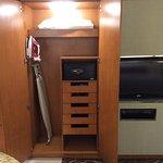 part of wardrobe & in room safe