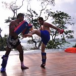 Thai boxing, activity at Sri Panwa Phuket