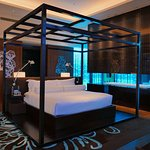 Bed in E Wow Suite