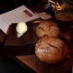 The White Swan's superlative bread rolls and world class butter
