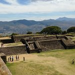 Great views are to be had from the higher points at Monte Alban