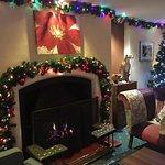 Beautiful festive decorations.