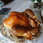 Our Christmas turkey from Wegmans!