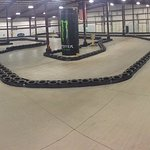 40,000 square feet Track Area