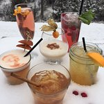 Snow & Cocktails always go well together....