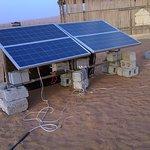 Going Green - Solar Panel for lighting