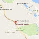 In Googlemaps ist das Guesthouse an völlig falscher Stelle eingezeichnet