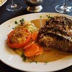 Thick-cut steak