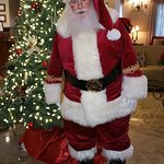 Even Santa enjoys staying at GrandStay at Christmas time.