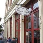 Charleston Tobacco & Wine - sidewalk seating