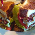 Yummy grouper BLT 12/26/16