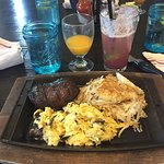 steak with eggs and hasbrowns....YUMMM