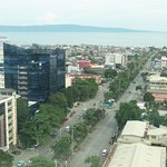 Roxas Boulevard seen from the Marco Polo Hotel.