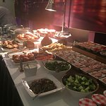 Main Breakfast Bar with Fish, Croissants and Pastries, Sausages, Bacon and more!