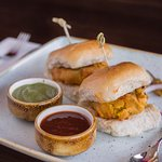 Vada Pav (Staple food of Mumbaikars, Spiced Potato Patties, Slider Buns)