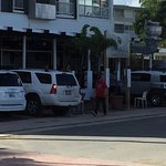 El Alambique restauarant, right down the block from hotel. Beachfront views. Outstanding