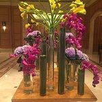 Four Seasons lobby flowers