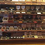 Over 375 cigars to choose from.
