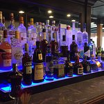 Full bar with the best Scotch, Whiskeys & Bourbons around.