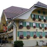 Outside view of Hotel Hirschen, Langnau, Emmental, Switzerland