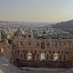 entering the acropolis