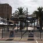 Short walk to Jetty Road and the tram