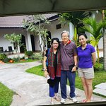 Raja Mardhiah, Billy Theodas and the Manager of the Travel Lodge Ms. Anita Chanthsone