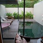 Deluxe pool villa!