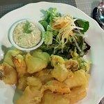fritto di calamari con salsa tartara