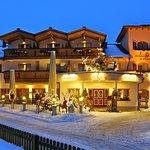 Außenbild Dorfkrug Winter