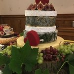 We offer bespoke cheese wedding cakes