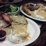 Saturday Night Chicken dinner