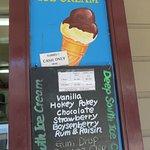 冰淇淋看板