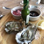 Great local bistro with local produce and wine . Some of the best oysters I have ever had and a