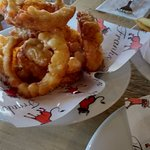 The onion rings are worth every penny