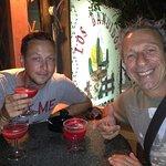 Margaritas in the bar