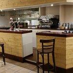 Le bar a également été redécoré, toujours dans un esprit d'accueil agréable