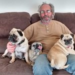 John with the Pugs