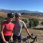 Fritz and Cathy in the beautiful Santa Ynez Valley.