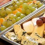 Fromages d'Auvergne sur le buffet